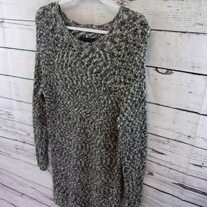 American Eagle grey heathered sweater dress small